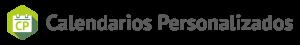 Calendarios personalizados Logo Horizontal